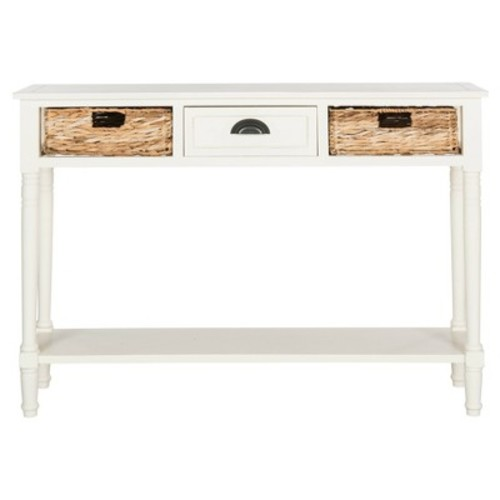 Console Table White - Safavieh