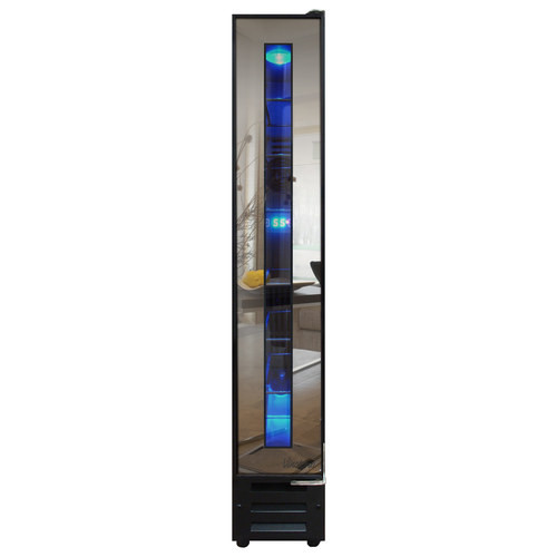 Vinotemp - 7-Bottle Built-In Wine Cooler - Black