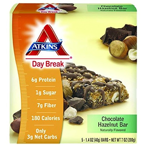 Atkins Nutritionals Chocolate Hazelnut Day Break Bar