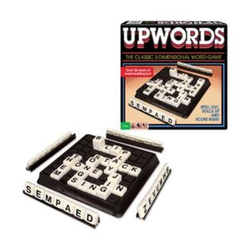 Winning Moves Games Upwords Classic Word-Building Game