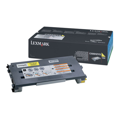 Lexmark Yellow High Yield Toner Cartridge