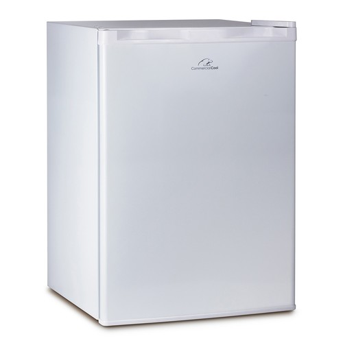 Commercial Cool 2.6 cu. ft. Mini Refrigerator with Freezer in White