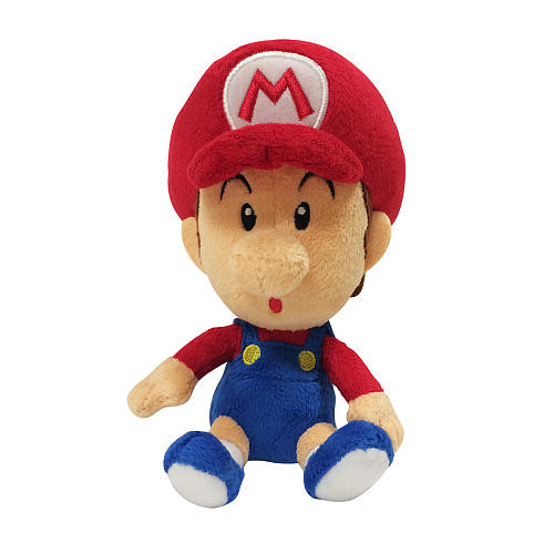 Mario Bros. 7.5 Inch U Small Plush Wave 2 - Baby Mario