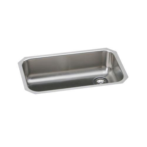 Elkay EGUH2816RDBG Gourmet Elumina Stainless Steel 30-1/2