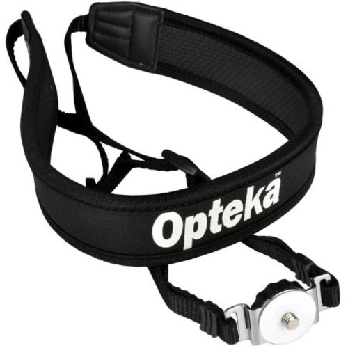 Opteka NS-7 Tripod Mounted Swivel Camera Neck Strap System for DSLR Cameras (Black)