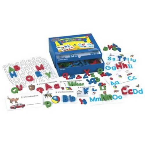 Lauri Toys Phonics Learning Center Kits, Alphabet