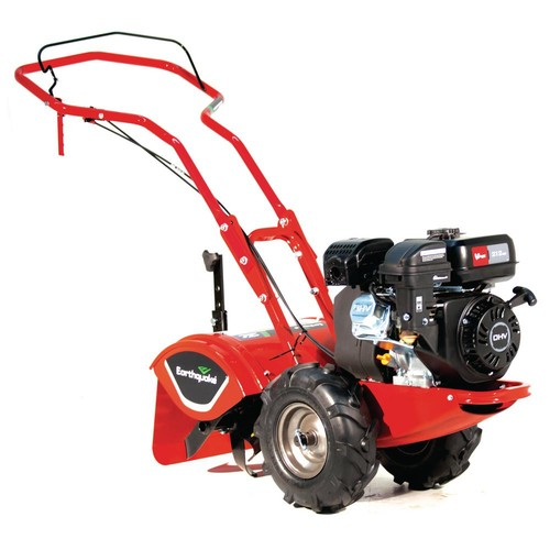 Earthquake Victory Compact Rear Tine Tiller, with Reverse and 4-Cycle 212cc Viper Engine 5-Year Warranty