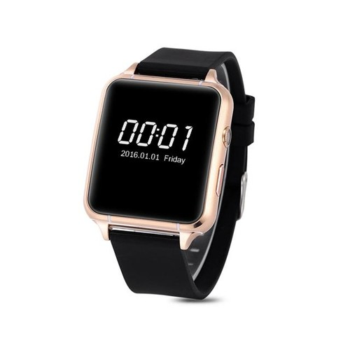 M88 Bluetooth4.0 Smart Watch GSM Quad Band Touch Screen Camera MTK2502 IOS Android - G