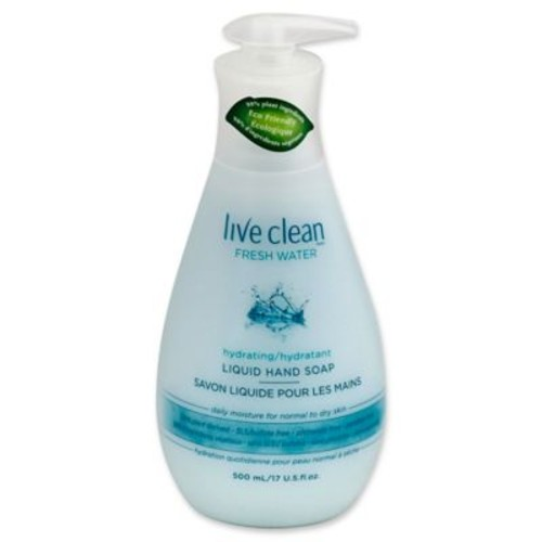 Live Clean Fresh Water 17 oz. Hydrating Liquid Hand Soap