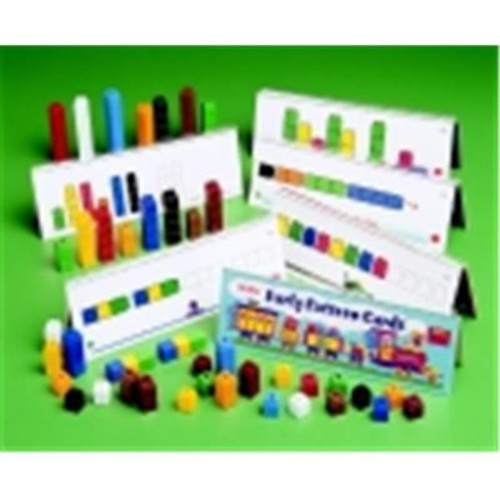 Unifix Cubes - Set - 500, Assorted Colors (SSPC66232)