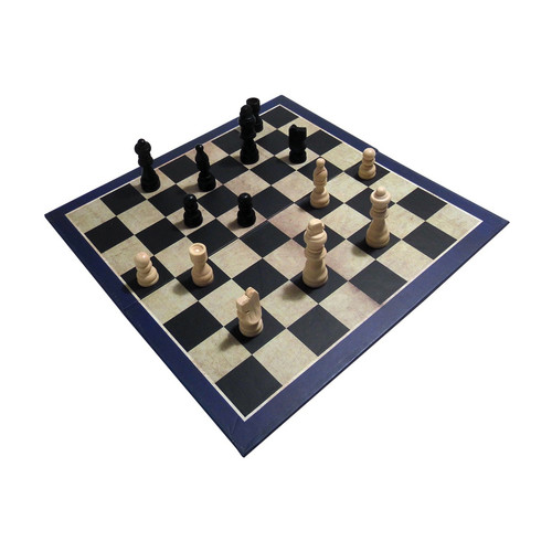 House of Marbles 3-in-1 Chess, Draughts/Checkers, & Backgammon