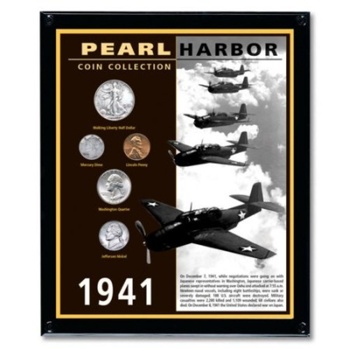 American Coin Treasures Pearl Harbor Framed Memorabilia