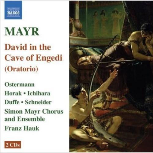 Mayr: David in spelunca Engaddi [CD]