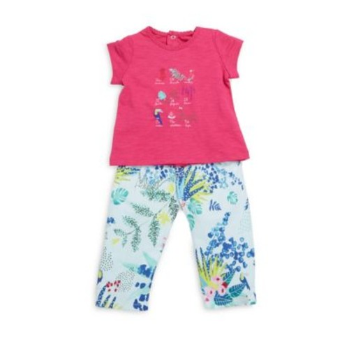 Baby's Two-Piece Top & Pants Set