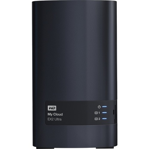 WD - My Cloud EX2 Ultra 0TB 2-Bay External Network Storage (NAS) - Charcoal