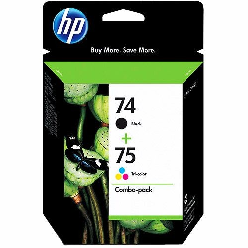 HP HP CC659FN 74/75 Ink Cartridges Combo Pack - Black & Tri-Color (CC659FN)
