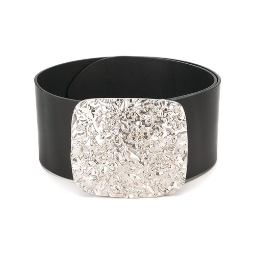 MAISON MARGIELA Crinkle Effect Buckle Belt