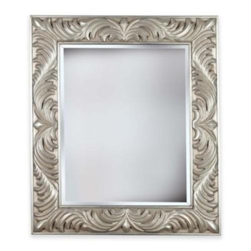 Kenroy Home 32-Inch x 38-Inch Antoinette Mirror in Silver