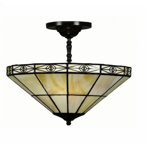 Tiffany Style Simple Hanging Lamp 12x11 - M113+12SF