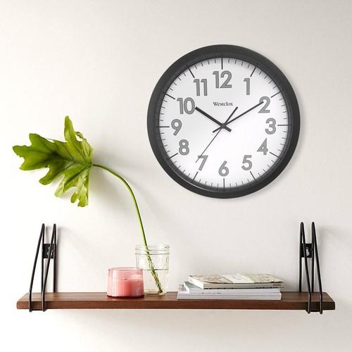 Westclox 14 in. Round Office Wall Clock