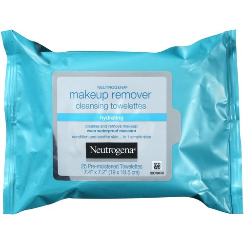 Neutrogena Hydrating Makeup Remover Cleansing Towelettes, 25 Count