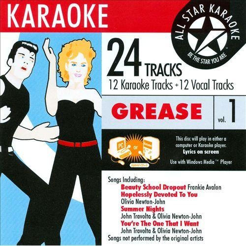 Karaoke: The Hits of Grease [CD]