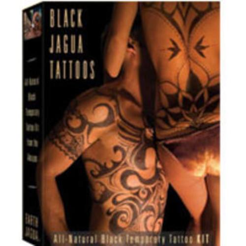 Earth Henna Earth Jagua Body Painting Kit, Black 1 kit by Earth Henna