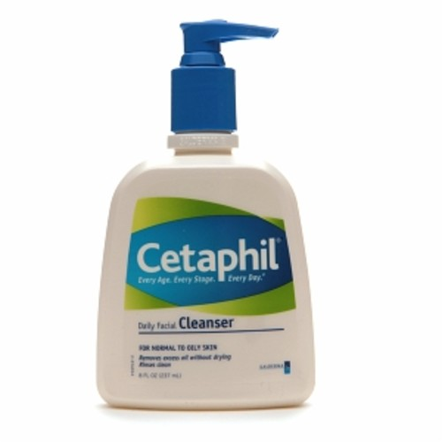 Cetaphil Daily Facial Cleanser, Normal to Oily Skin [8 fl oz]