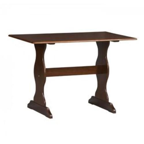LINON HOME DECOR PRODUCTS, INC Linon Home Decor 90368WAL-01-KD-U Chelsea Walnut Table Walnut