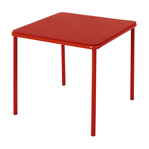 Cosco Home and Office Products Red Kid's Vinyl Top Table