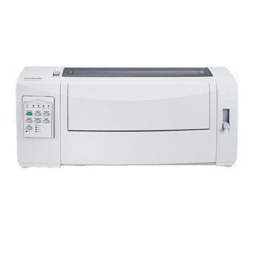 LEXMARK FORMS PRINTER 2580N+. Workgroup - Monochrome - Dot-matrix - Up to 618 cps Fast Draft 12 cpi ; Up to 400 cps Draft 12 cpi ; Up to 100 cps Near Letter Quality 12 cpi - 240 dpi x 144 dpi - USB (Catalog Category: Printers & Print Supplies / Dot-matrix Printer)
