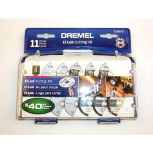 Dremel EZ Lock Cut-Off Wheel Set for Metal and Plastic (11-Piece)