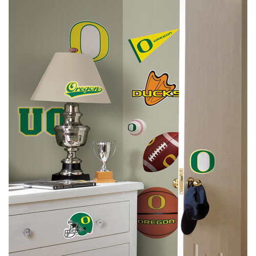 ROOMMATES RMK1747SCS University of Oregon Peel and Stick Wall Decals
