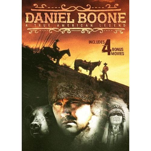 Daniel Boone: A True American Legend - Includes 4 Bonus Movies [DVD]