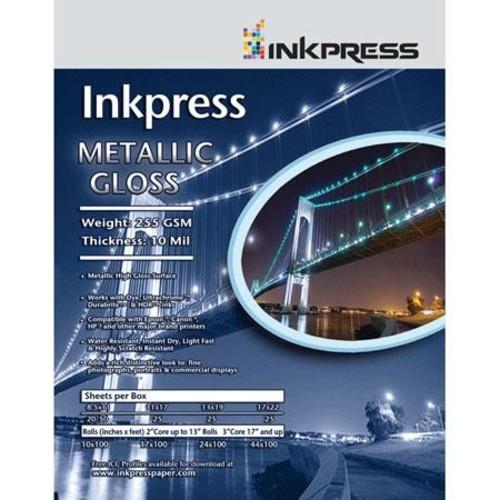 Inkpress Metallic Gloss Glossy Photo Paper (8.5x11