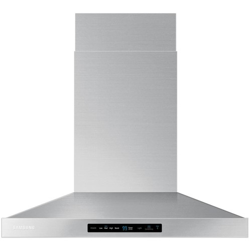 Samsung 30 in. Wall Mount Exterior Venting Range Hood in Stainless Steel with Wi-Fi