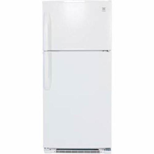 Daewoo 18 cu ft 30 Wide Top Freezer Refrigerator - White