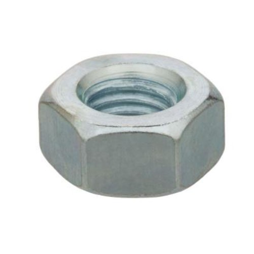 Everbilt 3/8 in.-16 tpi Coarse Zinc-Plated Steel Jam Nut (6-Pack)