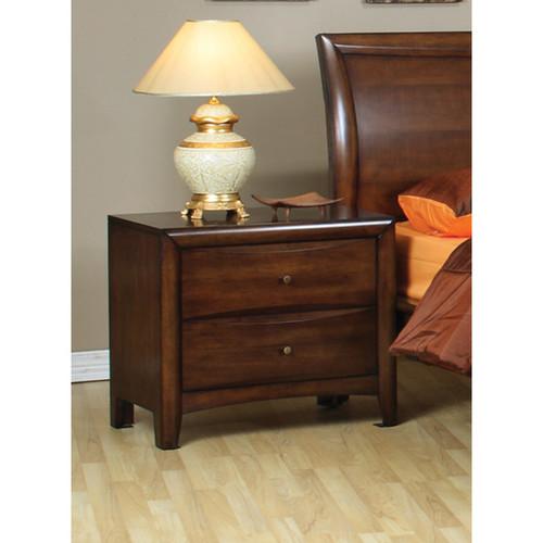 Coaster Company 2-drawer Brown Wood Nightstand