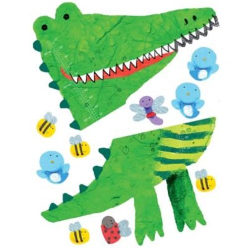 Wallies Crocodile Growth Chart Peel & Stick Wall Decals