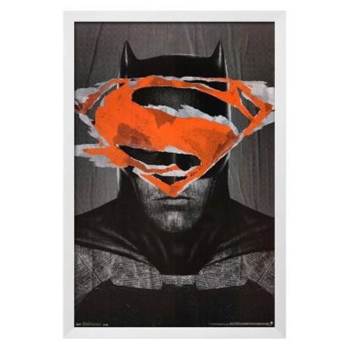 Batman Vs. Superman- Batman Teaser, Framed Poster