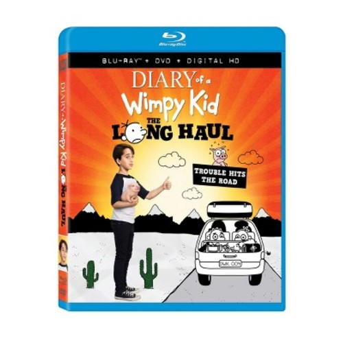 Diary Of A Wimpy Kid 4: The Long Haul (Blu-ray + DVD + Digital)
