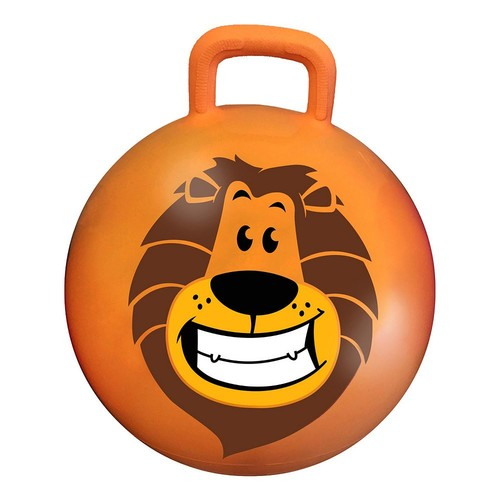 MegaFun USA Dandy the Lion 18-inch Jungle Hop Hop Bouncer