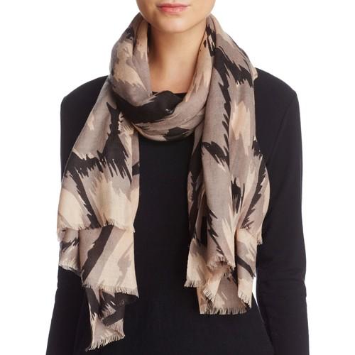 LOLA ROSE Diagonal Animal Wool Scarf - 100% Exclusive