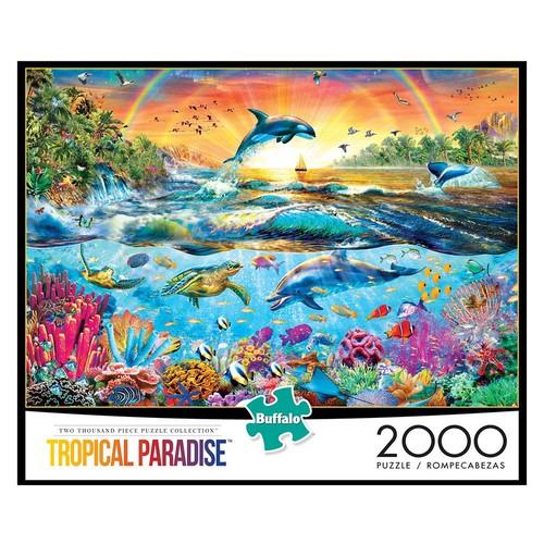 Buffalo Games Tropical Paradises Jigsaw Puzzle