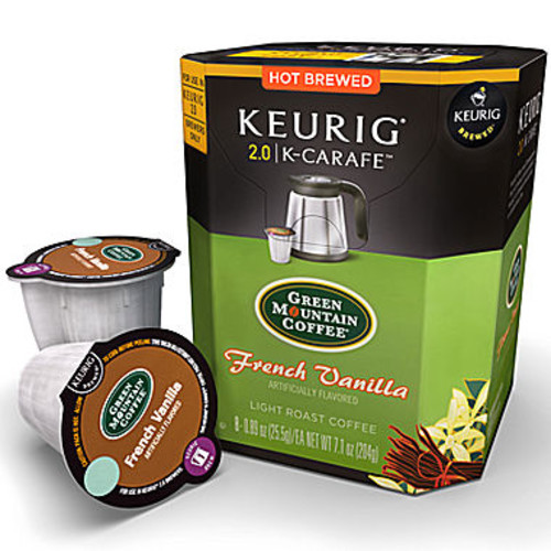 K-Carafe 8-ct. French Vanilla by Green Mountain Coffee Pack
