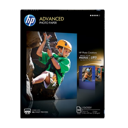 HP Advanced Photo Paper, Glossy, 8.5\