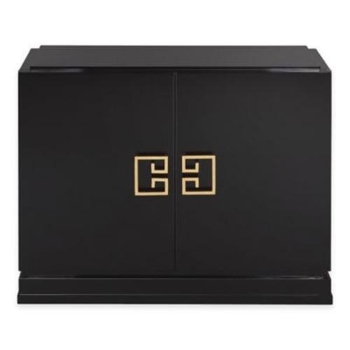 Winslow 2-Drawer Cabinet in Black