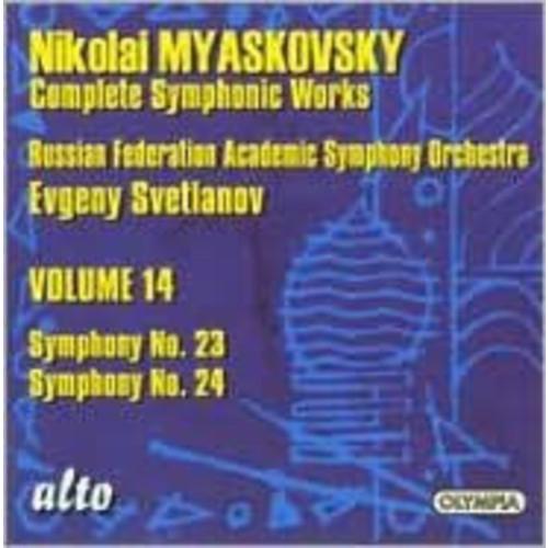 Nikolai Myaskovsky: Complete Symphonic Works, Vol. 14