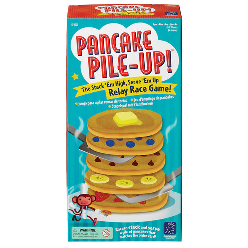 Pancake Pile-Up! Relay and Race Game
